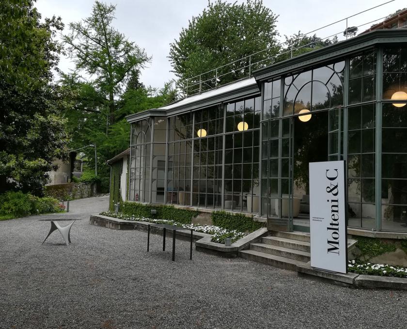 Molteni&C e LARUSMIANI a Villa del Grumello – Como per la Prima Edizione di Fuori Concorso